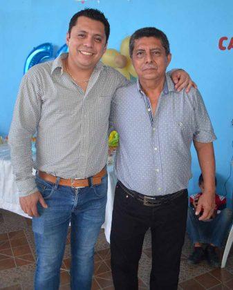 David, Ángel Barrios.
