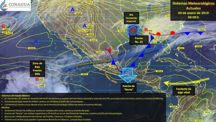 Declaran Emergencia por Nevadas y Frío en el País
