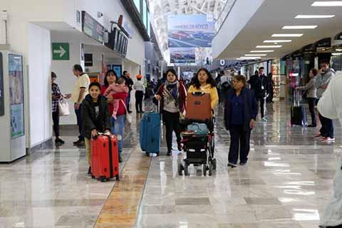 Incrementa Afluencia de Usuarios en Aeropuertos Nacionales con la Apertura de Nuevas Rutas