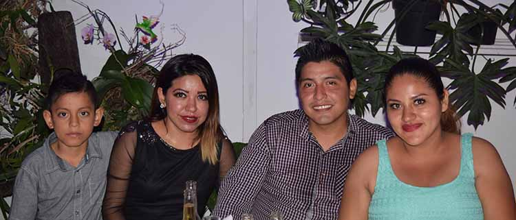Cristofer Gael, Gladis Yaneth, José Hernández, Isela Rincón.