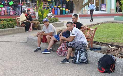 Inicia la Séptima Caravana de Migrantes; Están en Tecún Uman