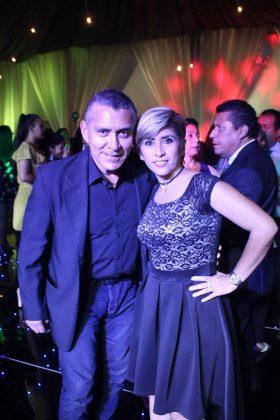 Andrés Amores, Mónica Camey.