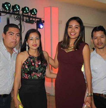 Iván Mérida, Marbella Díaz, Alejandra Gómez, Santiago Alcantara.