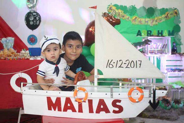 Matías, Abraham Castillo.