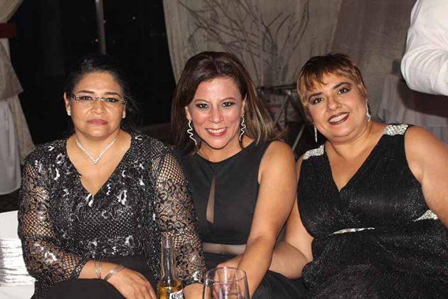 Rebeca Miranda, Erika Lemberg, Betty Montaño.