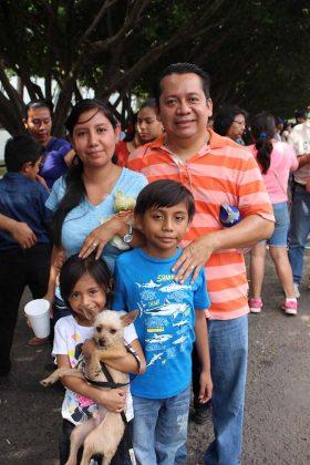 Familia González Quintero.