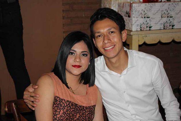 Carol González, Ismael Mendoza.