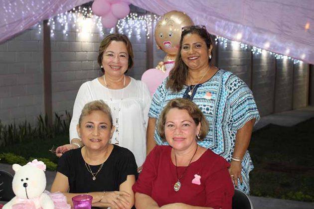 Hilsia, Sofía Hernández, Patricia Vázquez, Emelia Bermúdez.