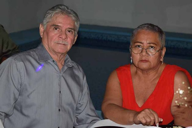 Jorge León, Sandra Ordoñez.