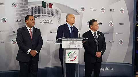 Reconoce Senador ERA Capacidad y Trayectoria de Alejandro Gertz Manero