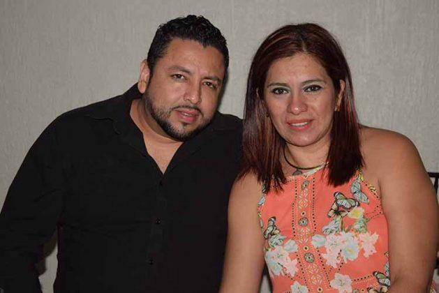 Edgar Mayorga, Maricruz Figueroa.