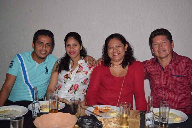 Ricardo Mejía, Sindy Magdalena, Erika Córdova, Ader Herrera.