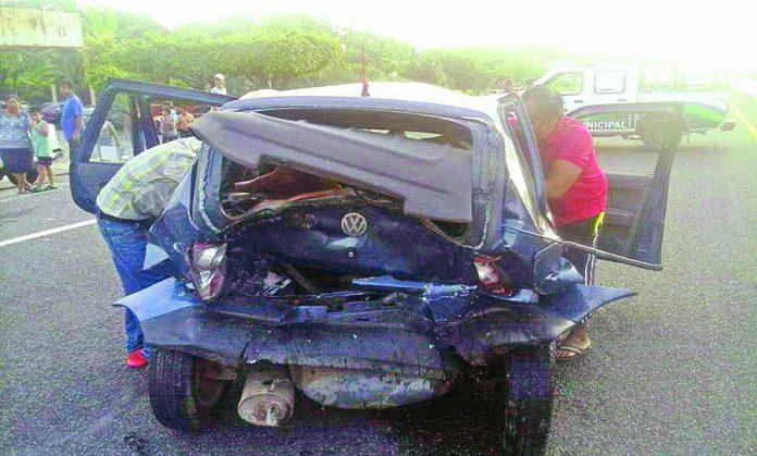 Tres Heridos en Carreterazo