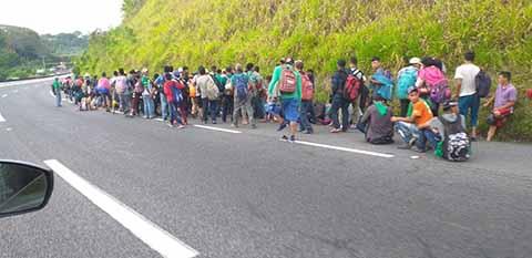 México Ayuda a Centroamericanos y no a su Pueblo que Está Hambriento