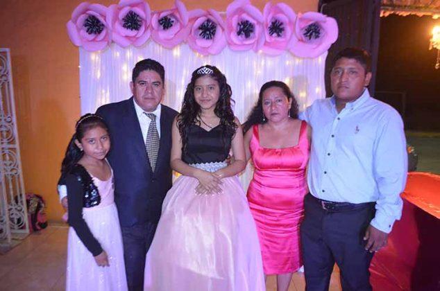 Ángela Yaneth Villatoro, Javier Antonio Villatoro Estrada, Karla Ximena, Angelita Gutiérrez, Javier Montoya.