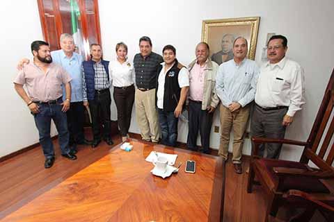 Atiende el PJE Propuestas de Empresarios Chiapanecos
