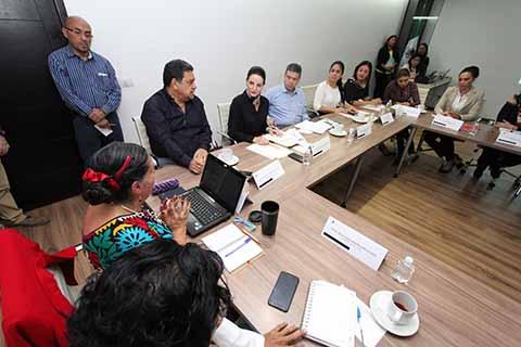 Participa Poder Judicial en Mesa de Atención contra la Violencia hacia las Mujeres
