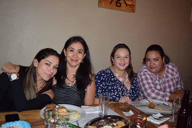 Adriana Zebadúa, Cassandra Guzmán, Lily Ocaña, Gaby Villegas.