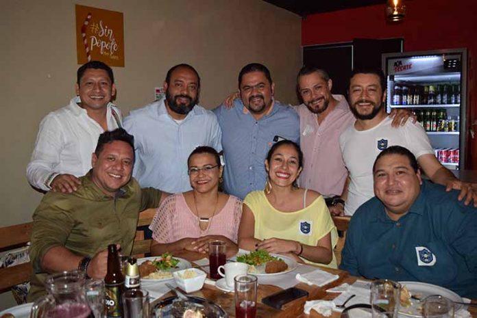 Jairo Sierra, Yvonne González, Ady Silva, Levit Gordillo, Dago De la Cruz, Fernando George, Jorge Mendoza, Francisco Alvarado, Luis Kardash.