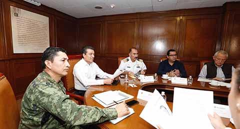 Mesa de Seguridad Fortalece Desarrollo de Chiapas