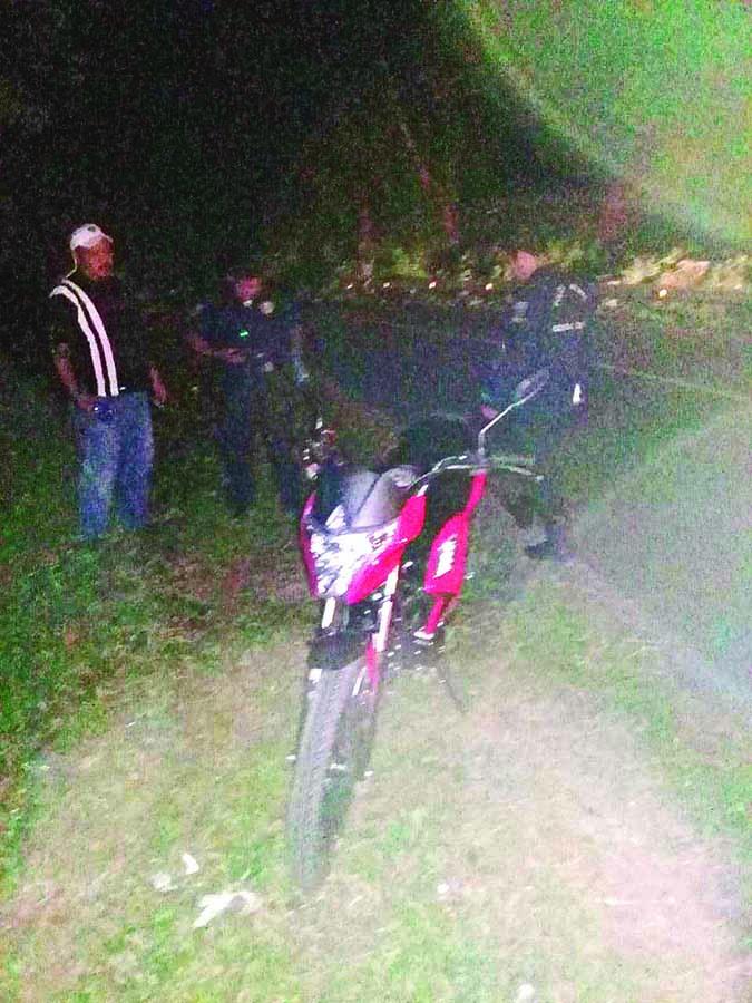 Dos Motociclistas Lesionados en Choque