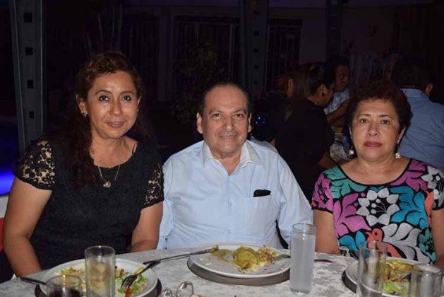 Marycarmen Peña, Jorge Alberto Toledo, Norma Juan.