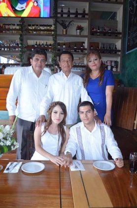 Germán Castro, Antonio Cueto Citalán, Hannia Castro, Diego Ventura.