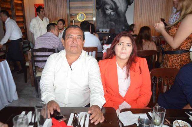 Elmer Ordóñez, Hilda Castro.