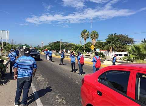 Reactivan Bloqueos Carreteros, Marchas y Protestas en Chiapas