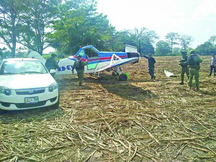 Avioneta del Ingenio Azucarero Aterriza de Emergencia