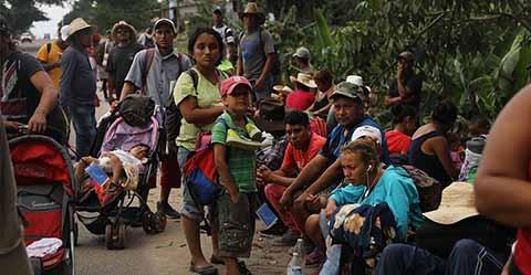 Autoridades de los tres niveles de Gobierno acordaron cuatro líneas de acción institucional, para atender el posible ingreso de migrantes de Centroamérica, previsto para esta semana.