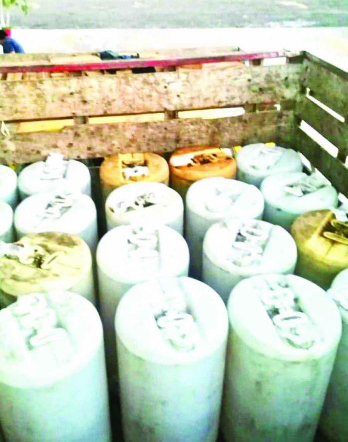 Aseguran mil Litros de Diesel en Suchiate