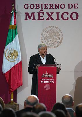 AMLO Presenta Programa Zona Libre en Frontera Norte