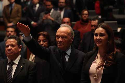 Senado Elige a Alejandro Gertz Manero Como Fiscal General de la República