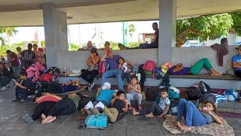 Impacta a la Baja el Comercio con la Llegada de Migrantes; Por Temor la Ciudadanía Prefiere no Acudir al Centro