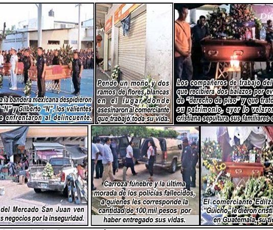 """Locatarios del Mercado """"San Juan"""" Confirman que la Delincuencia Organizada les Cobra """"Derecho de Piso"""""""