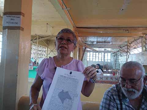 Urgente la Remodelación del Mercado Sebastian Escobar por Grave Deterioro