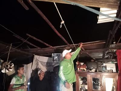 Tromba Causa Afectaciones a Varias Casas en Unión Juárez