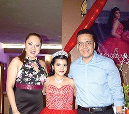 Christian Pérez & Michelle García, acompañaron a Dilcia Guadalupe Morga Alemán en su celebración de 15 años