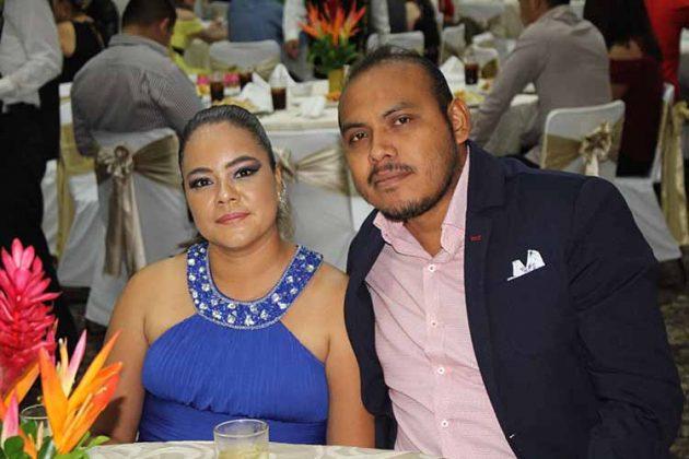 Cinthya Ordoñez, Miguel Medina.