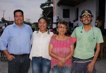 Hans Kabsh, Martina Velázquez, Marina Aguirre, Pedro Pico.