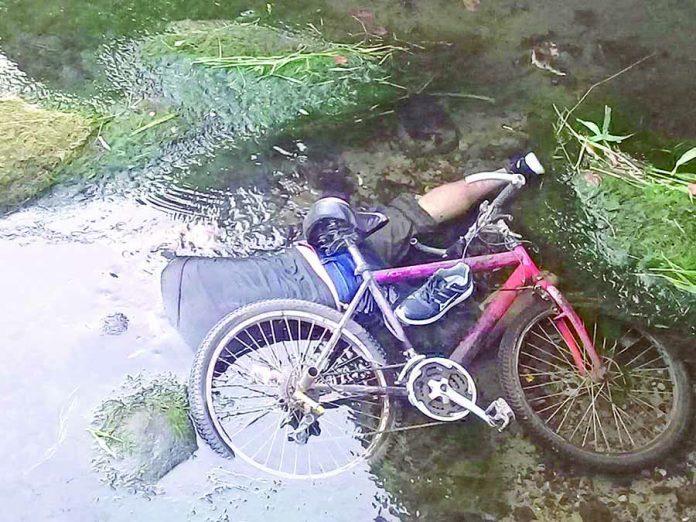 Murió al Caer en un Canal de Agua