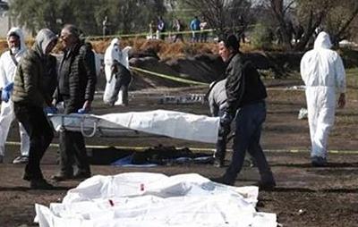 Aumenta a 132 las Víctimas por Explosión de Ducto en Tlahuelilpan