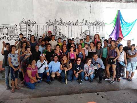 Con Éxito Festival Cultural en la Antigua Estación del Ferrocarril