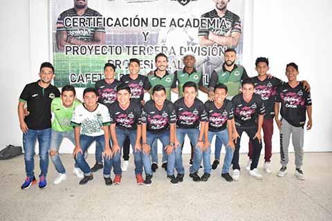 Certifican en Motozintla la Academia de Cafetaleros y Proyecto de 3a. División Profesional