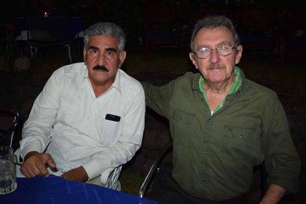 Carlos Calcáneo, Octavio González.