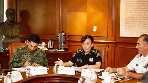 El Combate y Prevención del Delito, Prioridad en la Mesa de Seguridad