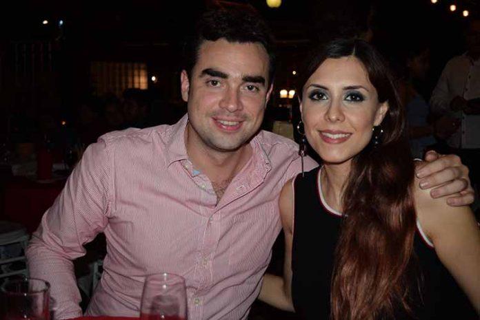 Miguel Gutiérrez & Liliana Oseguera, compartieron una grata velada