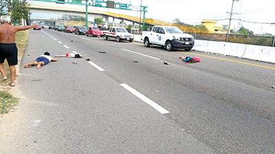 Un Muerto y dos Heridos en Accidente