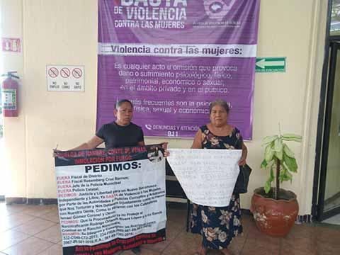 Protestan Mujeres por Anomalías en Investigación